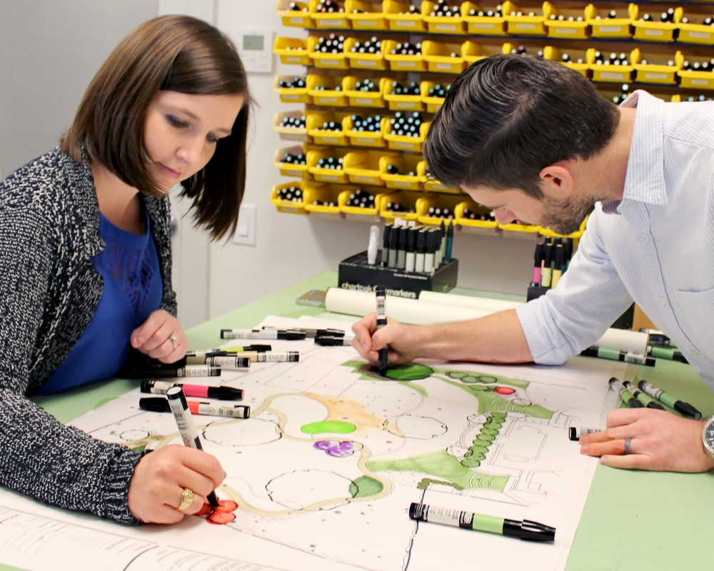 monica-and-brian-designing
