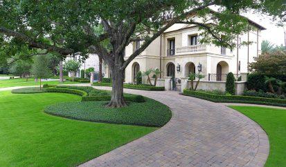 Modern Mediterranean Landscape – Tanglewood,Houston