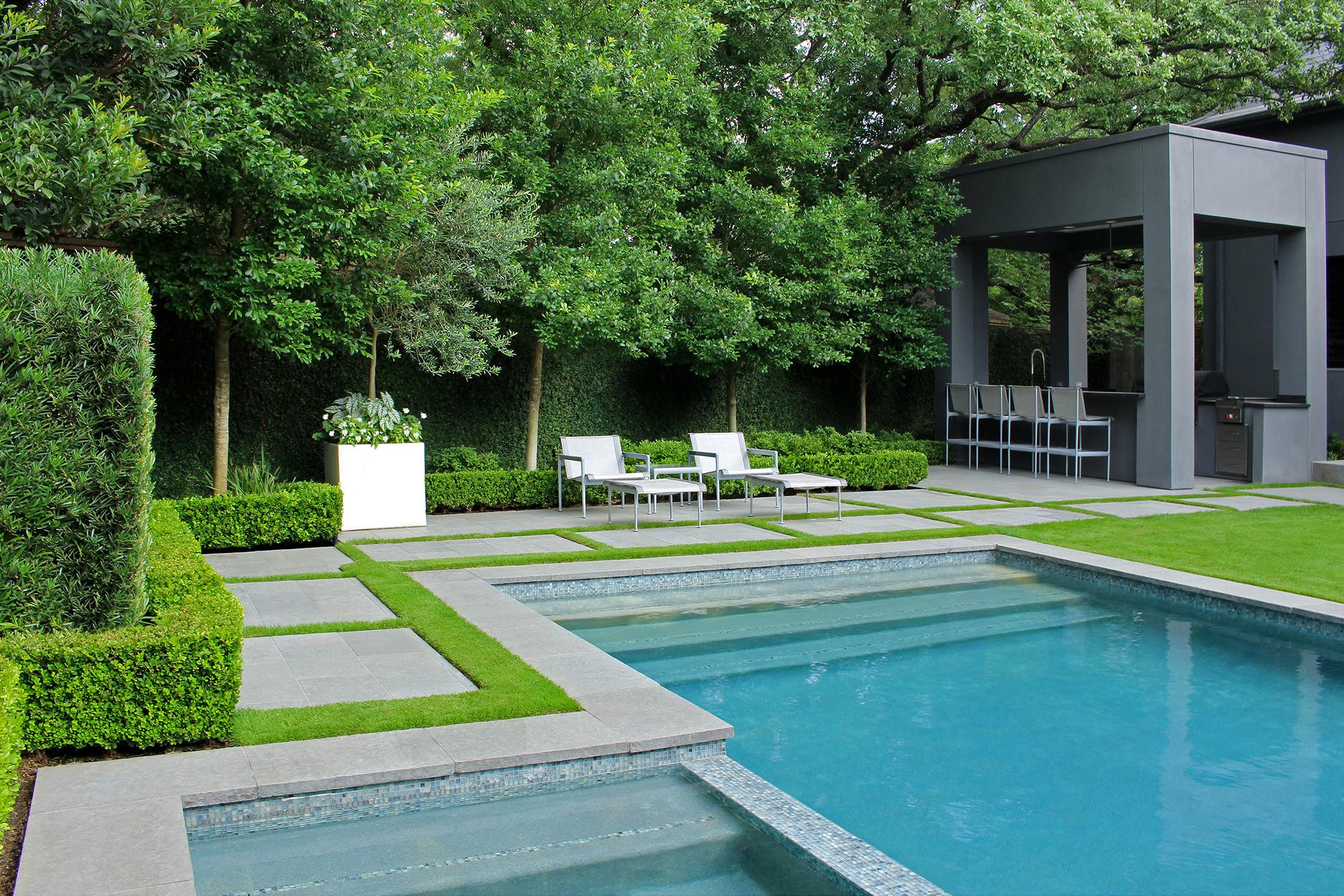 Contemporary Backyard Retreat U2013 Tanglewood, Houston