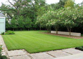 Modern Serenity Gardens - Backyard
