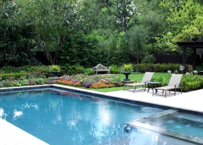 Poolside Summer Gardens – Memorial, Houston