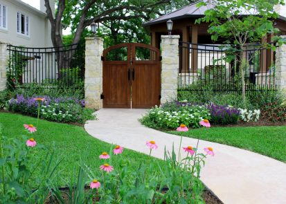 Sunset Terrace Backyard – West University Place, Houston