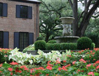 Longfellow Gardens - Season Color around Fountain